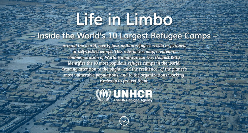 Refugee Camps Around The World Map.The World S 10 Largest Refugee Camps